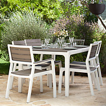 Buy Keter Harmony 6-Seat Dining Set Online at johnlewis.com