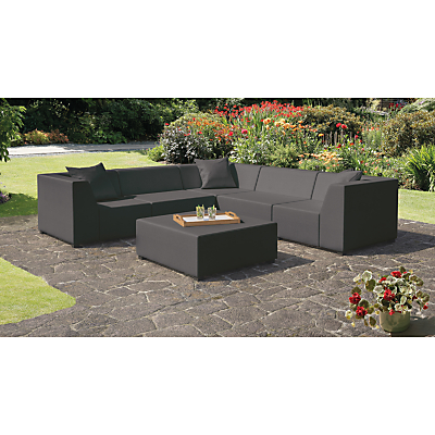 CoSi Amsterdam Weather Proof 3-Piece Corner Sofa Set