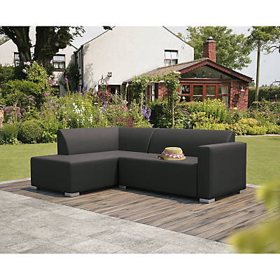 CoSi Torino Weatherproof Corner Sofa, Left Hand Side