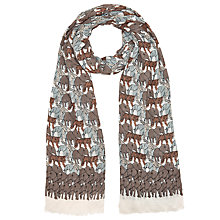Buy John Lewis Jungle Creatures Print Scarf, Multi Online at johnlewis.com