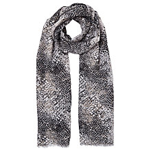 Buy John Lewis Snake and Animal Print Scarf, Multi Online at johnlewis.com