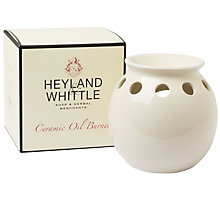 Buy Heyland & Whittle Ceramic Oil Burner Online at johnlewis.com