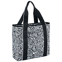 Buy Nike Legend Track Tote Bag, Black/White Online at johnlewis.com