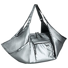 Buy Nike Victory Gym Metallic Tote Bag, Grey Online at johnlewis.com