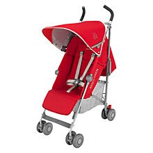 Buy Maclaren Quest Stroller, Red/Silver Online at johnlewis.com
