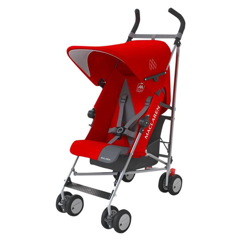 Maclaren Maclaren Triumph Stroller, Red/Charcoal