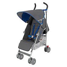 Buy Maclaren Quest Stroller, Charcoal/Blue Online at johnlewis.com
