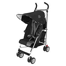 Buy Maclaren Triumph Pushchair, Black/Charcoal Online at johnlewis.com