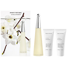 Buy Issey Miyake L'eau D'issey 50ml Eau de Toilette Fragrance Gift Set Online at johnlewis.com