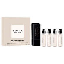 Buy Narciso Rodriguez NARCISO Eau de Parfum Purse Spray, 4 x 15ml Online at johnlewis.com