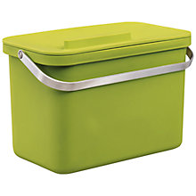 Buy Joseph Joseph Totem Food Waste Caddy, Green, 4L Online at johnlewis.com