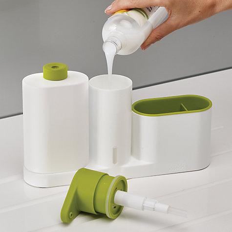 buy joseph joseph sinkbase 3 piece sink tidy set white. Black Bedroom Furniture Sets. Home Design Ideas