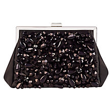 Buy Coast Gully Sparkle Bag, Black Online at johnlewis.com
