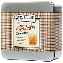 Buy Tipplesworth Old Fashioned Mini Whiskey Cocktail Kit Online at johnlewis.com