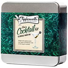 Buy Tipplesworth Classic Martini Mini Cocktail Kit Online at johnlewis.com