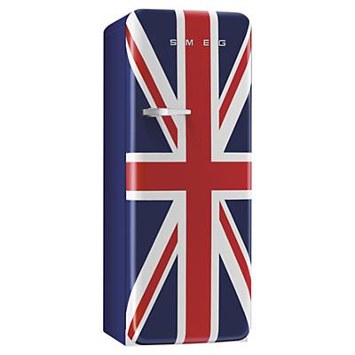 Smeg FAB28QUJ1 Fridge A Energy Rating 60cm Wide RightHand Hinge Union Jack