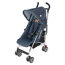 Buy Maclaren Quest Stroller, Denim Online at johnlewis.com