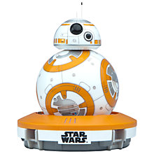 Buy Sphero Star Wars BB-8 App-Enabled Droid Online at johnlewis.com