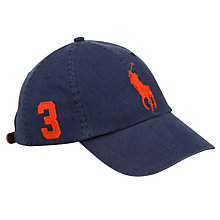 Buy Polo Ralph Lauren Big Pony Chino Baseball Cap, One Size Online at johnlewis.com