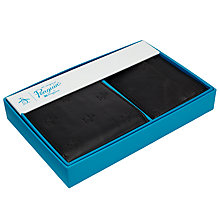 Buy Original Penguin Embossed Wallet Gift Set, Black Online at johnlewis.com
