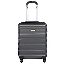 Buy John Lewis Basics 4-Wheel Cabin Case, Anthracite Online at johnlewis.com