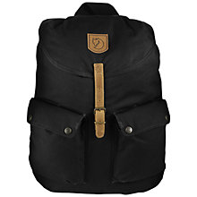 Buy Fjallraven Greenland Backpack, Black Online at johnlewis.com