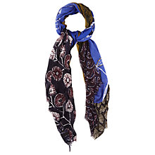 Buy White Stuff Foliage Patchwork Scarf, Multi Online at johnlewis.com