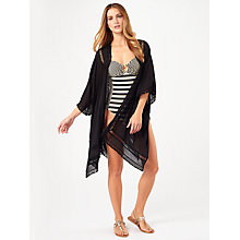 Buy Phase Eight Paola Tassel Kimono, Black Online at johnlewis.com