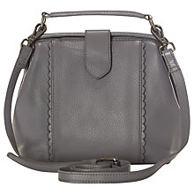 Buy White Stuff Blossom Frame Bag, Geo Grey Online at johnlewis.com