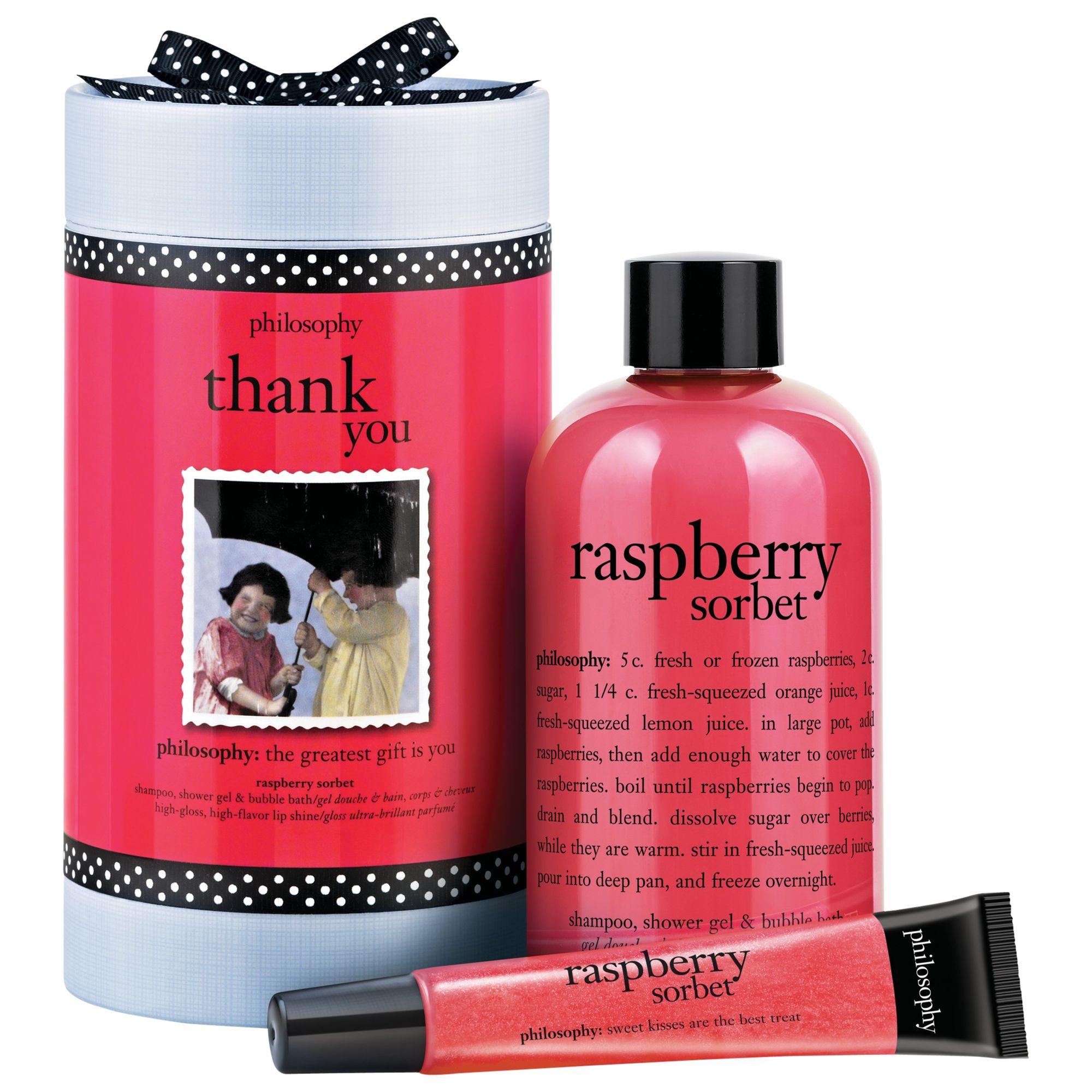 Philosophy Philosophy Raspberry Thank You Bath & Body Gift Set