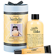 Buy Philosophy Birthday Girl Bath & Body Gift Set Online at johnlewis.com
