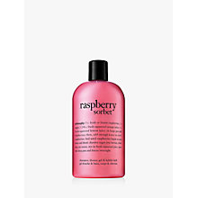 Buy Philosophy Raspberry Shower Gel, 480ml Online at johnlewis.com