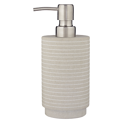John Lewis Spa Mint Sandstone Soap Pump