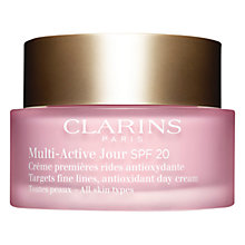 Buy Clarins Multi Active Day Lotion SPF 20, 50ml Online at johnlewis.com
