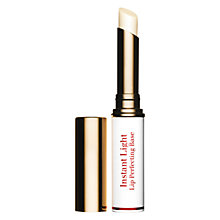 Buy Clarins Instant Light Lip Perfecting Base Online at johnlewis.com
