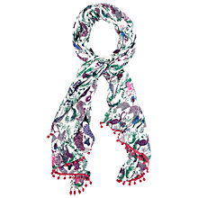Buy White Stuff Two By Two Scarf, Multi Online at johnlewis.com