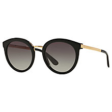 Buy Dolce & Gabbana DG4268 Round Sunglasses Online at johnlewis.com