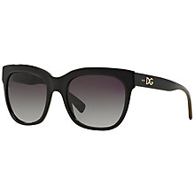 Buy Dolce & Gabbana DG4272 Square Framed Sunglasses Online at johnlewis.com