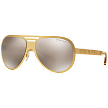 Buy Michael Kors MK5011 Clementine I Aviator Sunglasses Online at johnlewis.com