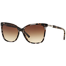 Buy Michael Kors MK6029 Cats Eye Sunglasses, Black Online at johnlewis.com