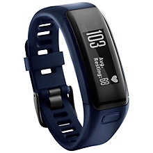 Buy Garmin vivosmart HR Sports Activity Tracker Watch With Wrist Heart Rate Monitor, Regular Online at johnlewis.com
