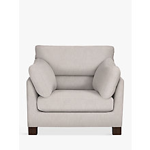 Buy John Lewis Ikon High Back Armchair, Henley French Grey Online at johnlewis.com