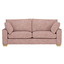 Buy John Lewis Hadley Large Sofa, Harbour Coastal Red Online at johnlewis.com