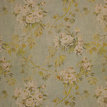 Buy Designers Guild Floreale Semi Plain Fabric, Celadon, Price Band G Online at johnlewis.com