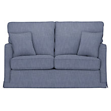 Buy Collins & Hayes for John Lewis Waterside Small Loose Cover Sofa, Darwen Blue Print Online at johnlewis.com