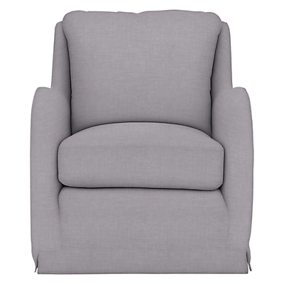 Collins & Hayes for John Lewis Holkham Loose Cover Armchair, Solva Storm