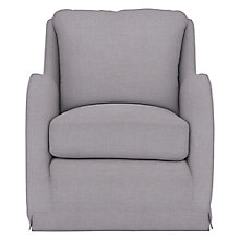 Buy Collins & Hayes for John Lewis Holkham Loose Cover Armchair, Solva Storm Online at johnlewis.com