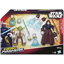 Buy Star Wars Episode VII: The Force Awakens Yoda Vs Emperor Palpatine Hero Mashers Online at johnlewis.com