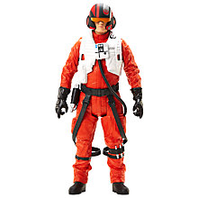 "Buy Star Wars: Episode VII The Force Awakens 18""  Poe Dameron Action Figure Online at johnlewis.com"