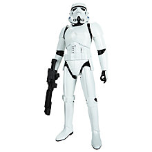 "Buy Star Wars 20"" Stormtrooper Action Figure Online at johnlewis.com"